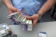 francs suisses CHF liasses billets