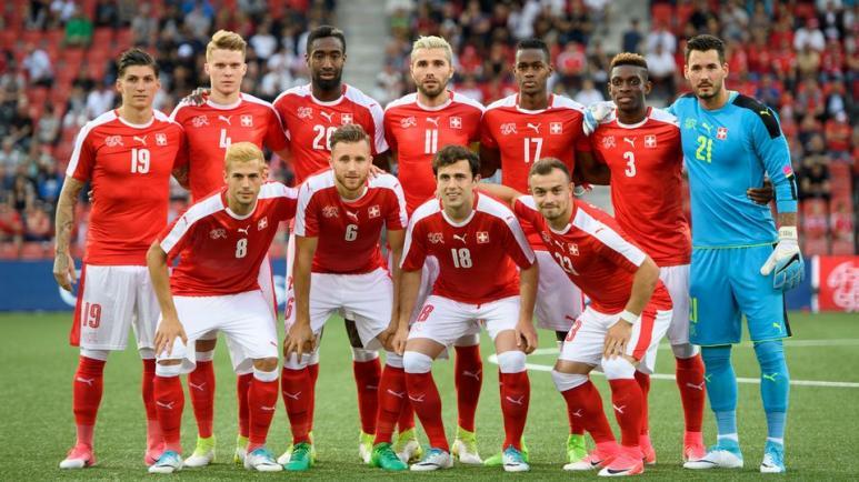 equipe nationale football suisse